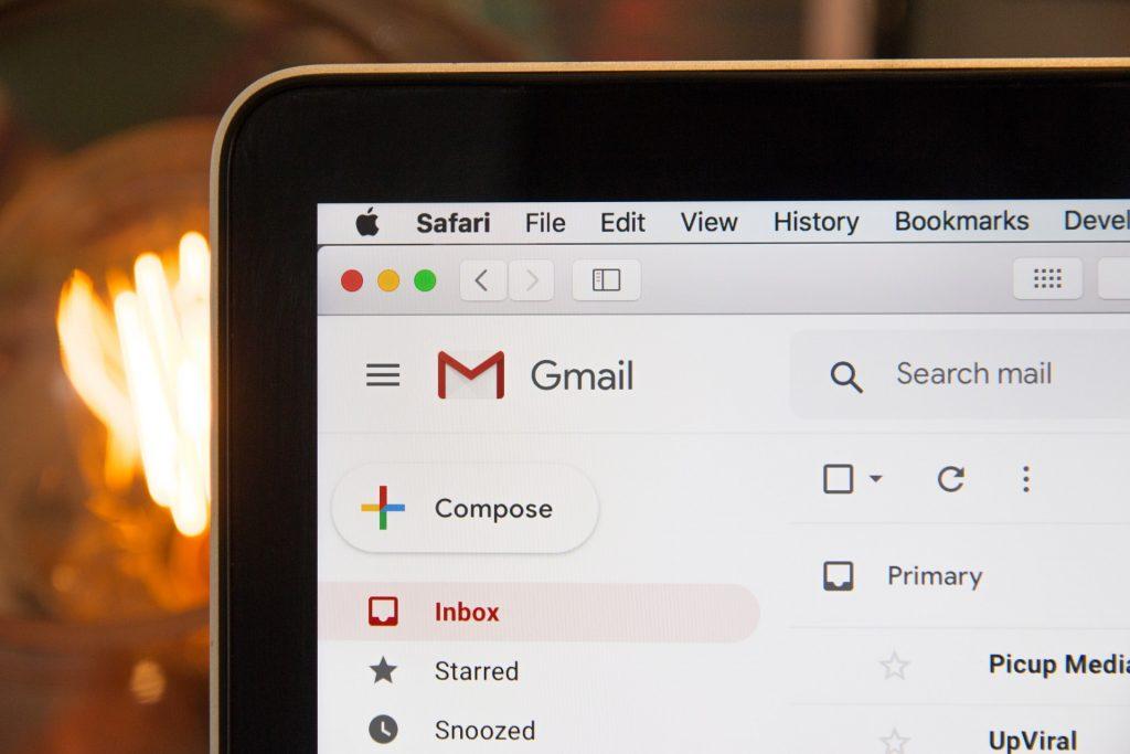 Gmail Ekranı