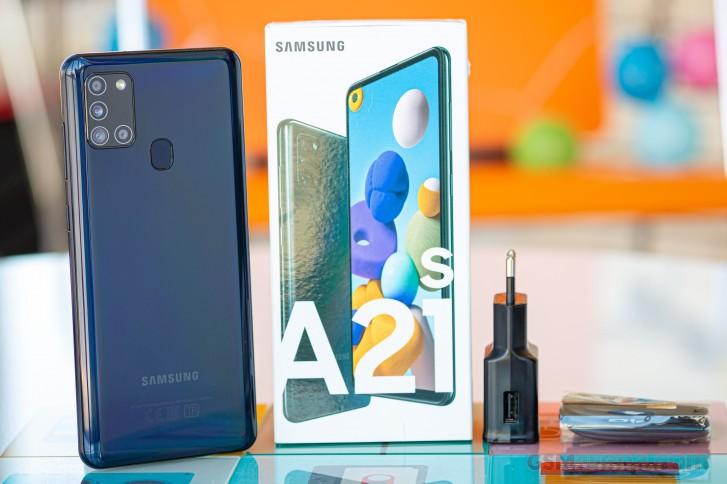 Samsung A21S İncelemesi - Dış Kasa Tasarımı