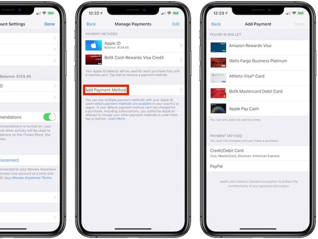App Store Ödeme Yöntemi Ekleme