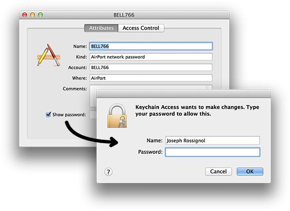 MAC Bilgisayarda Wi-Fi Şifresi Öğrenme