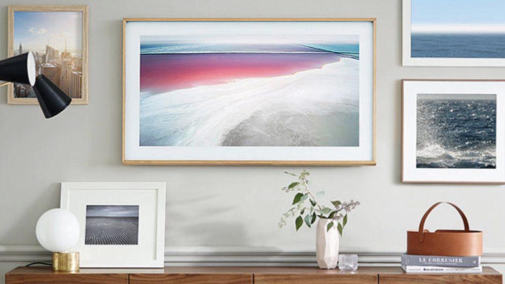 Samsung The Frame 4K TV tasarımı